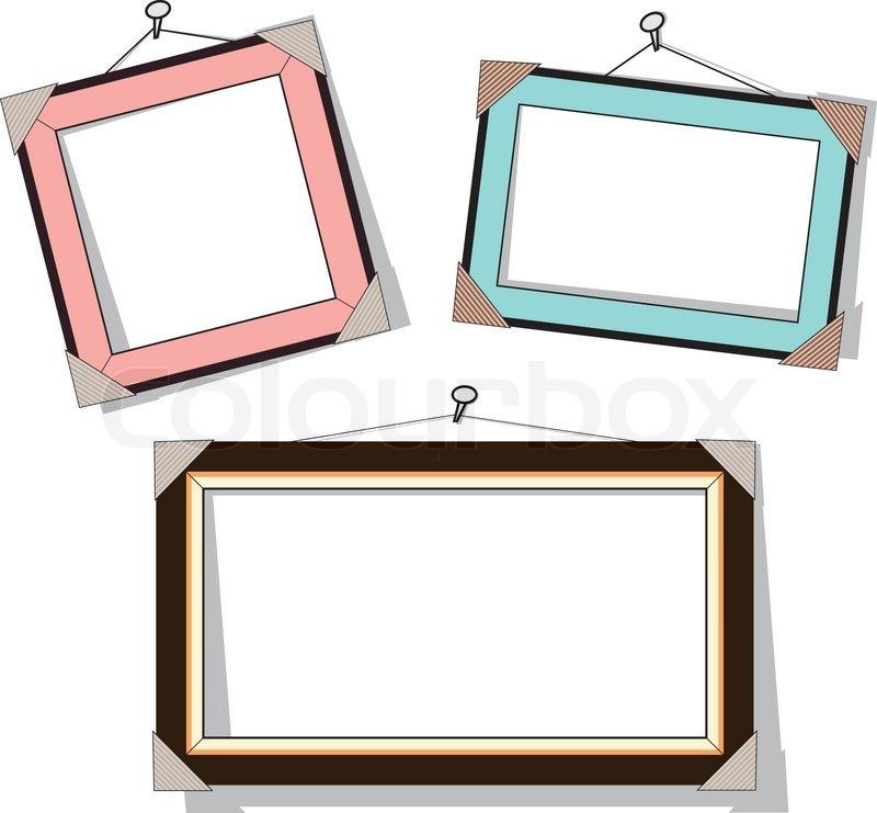 Modern Frame Vector Illustration Stock Vector Colourbox