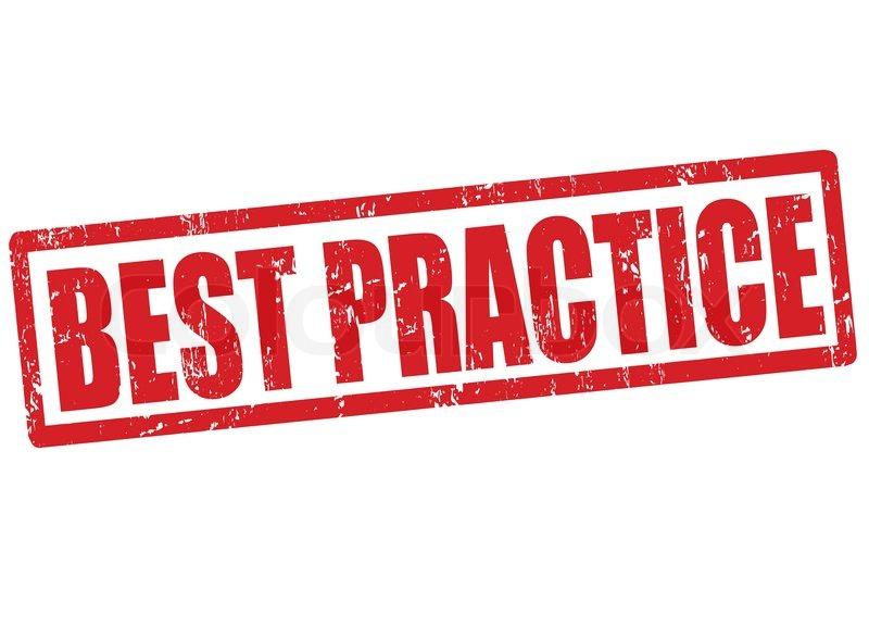 Best practice stamp | Stock Vector | Colourbox