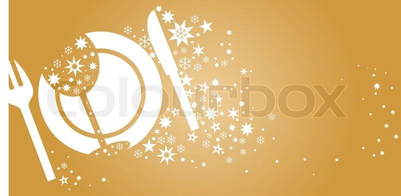 illustration hintergrund mit goldenem muster für die einladung, Einladung