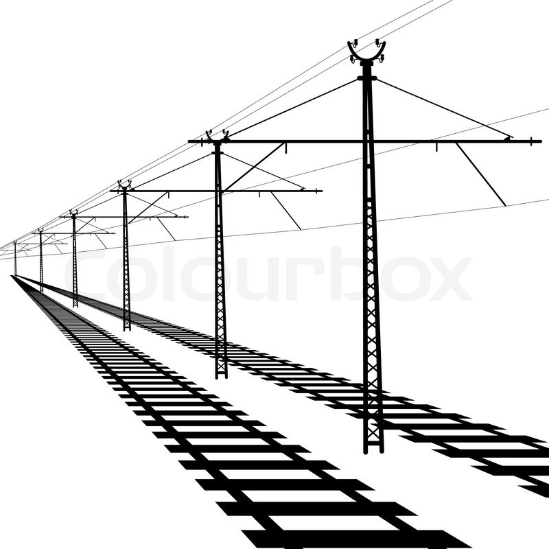 railroad overhead lines  contact wire