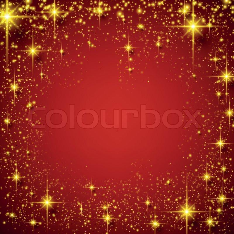 weihnachten rot sternenhimmel hintergrund vektorgrafik. Black Bedroom Furniture Sets. Home Design Ideas