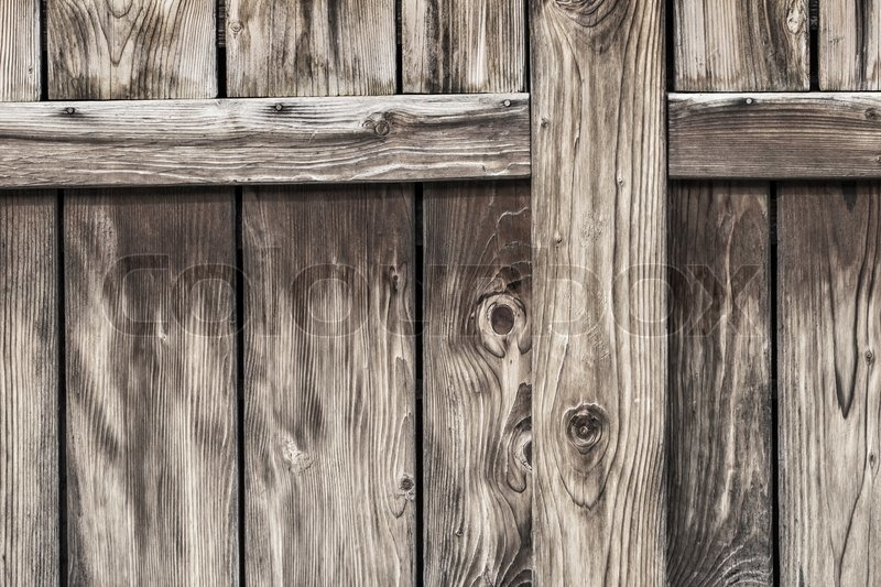 Photograph of old weathered rustic pine wooden barn door for Buy old barn wood