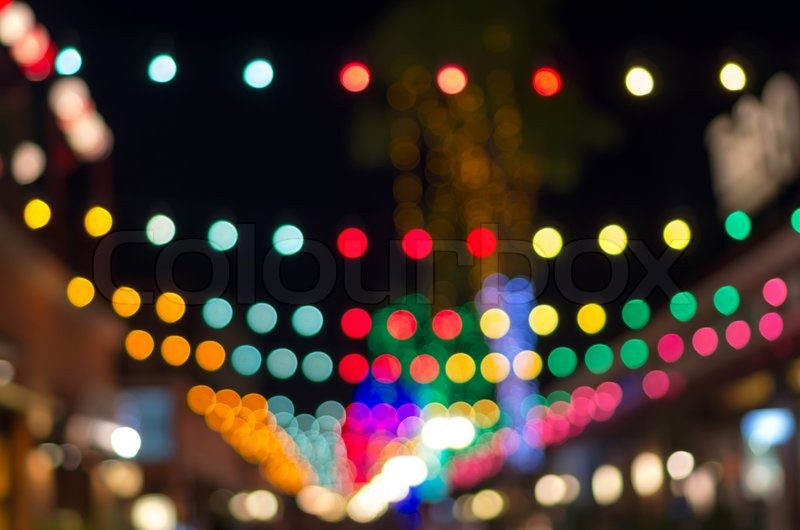 blurred photo bokeh abstract lights background for new year party or christmas stock photo colourbox