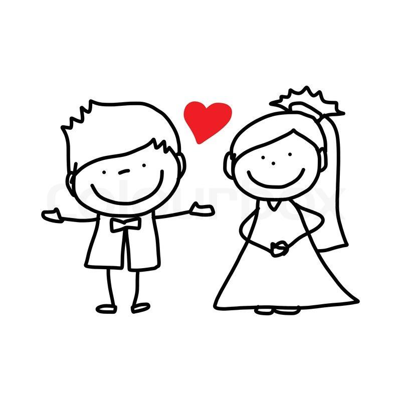 Wedding Cartoon Wedding Photography