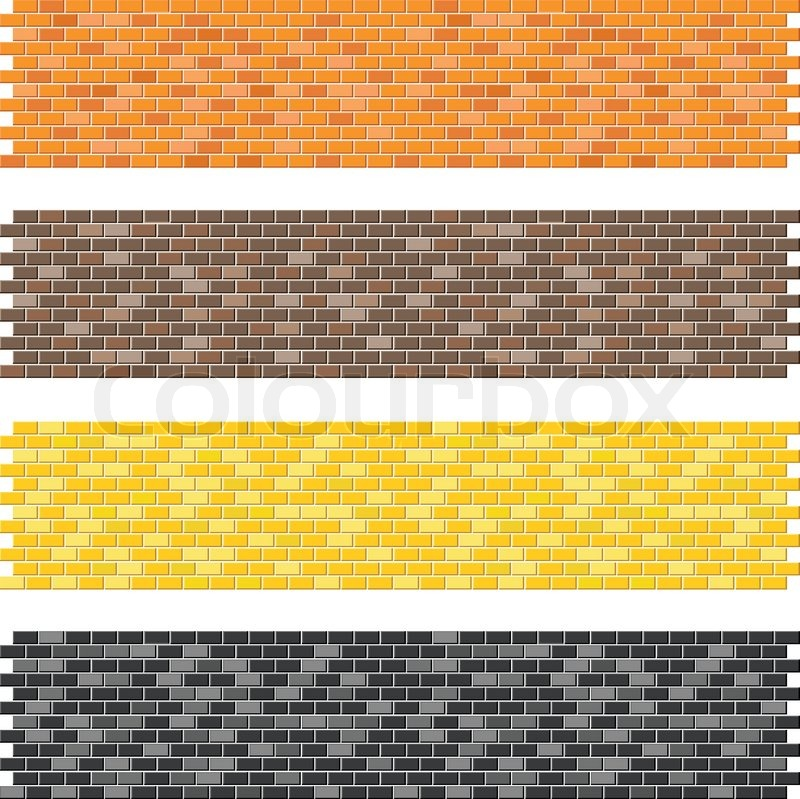 Castle Wall Background Vector