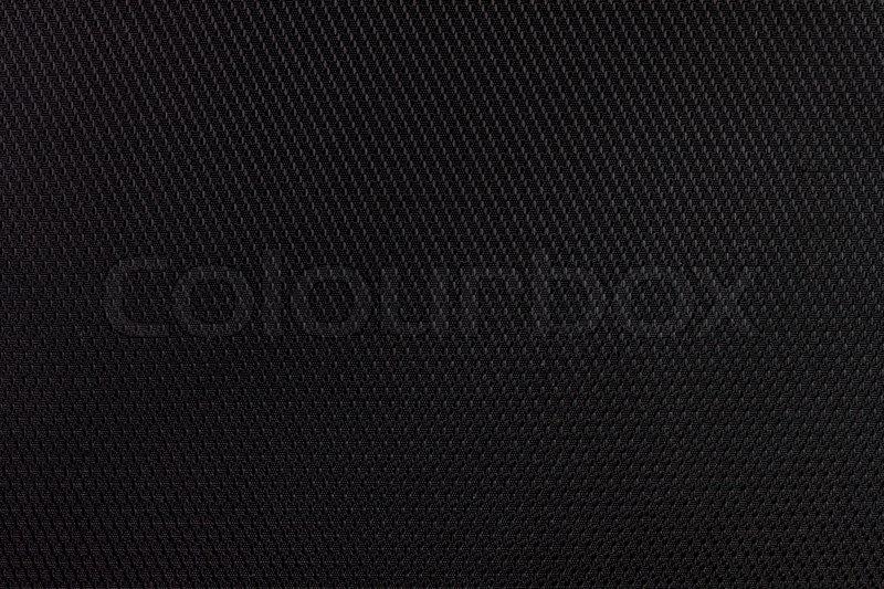 schwarzer stoff textur detail stockfoto colourbox. Black Bedroom Furniture Sets. Home Design Ideas