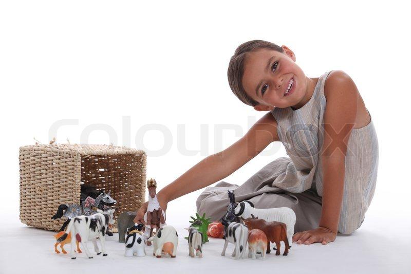 dyrelegetøj