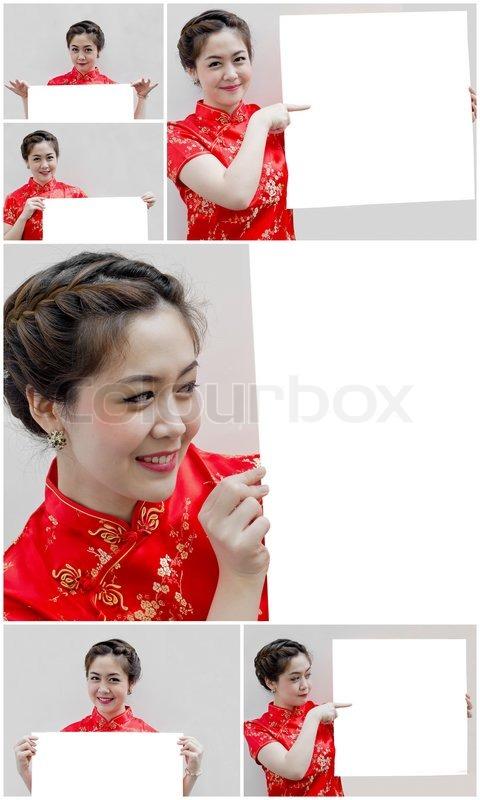 Satz der orientalische Mädchen, ich wünsche Ihnen ein glückliches ...