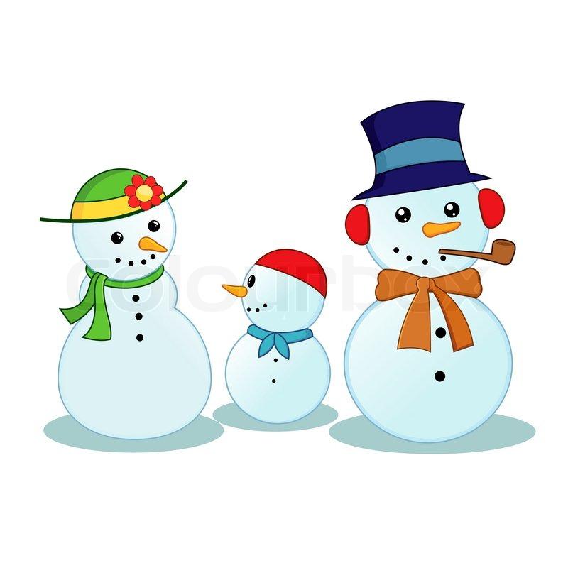 snowman family clip art free - photo #22