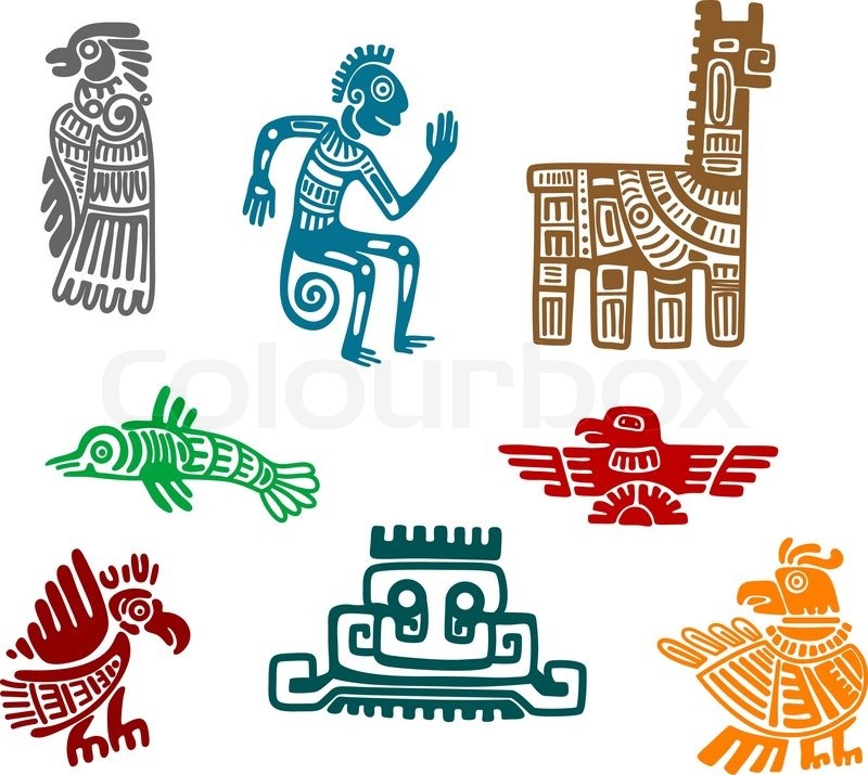 Ancient Arts Drawing Aztec And Maya Ancient Drawing