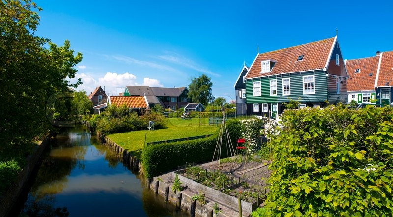 Marken Is A Peninsula In The IJsselmeer The Netherlands Located - Where is the netherlands located