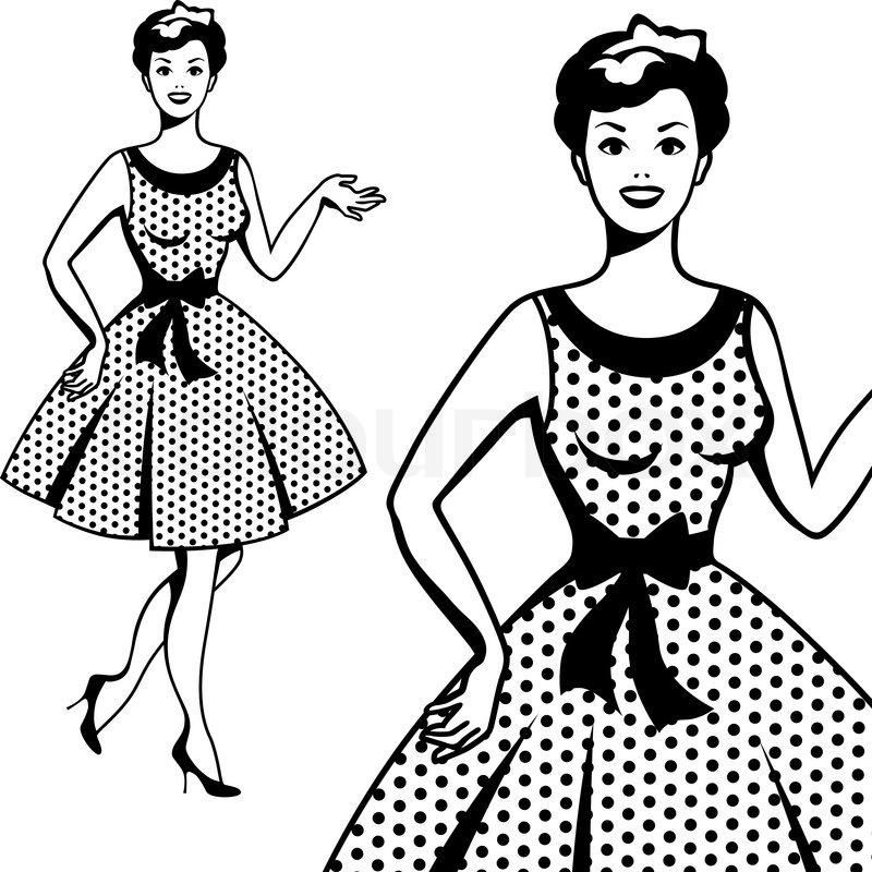 Download Beautiful retro girl in pop art style   Stock Vector ...
