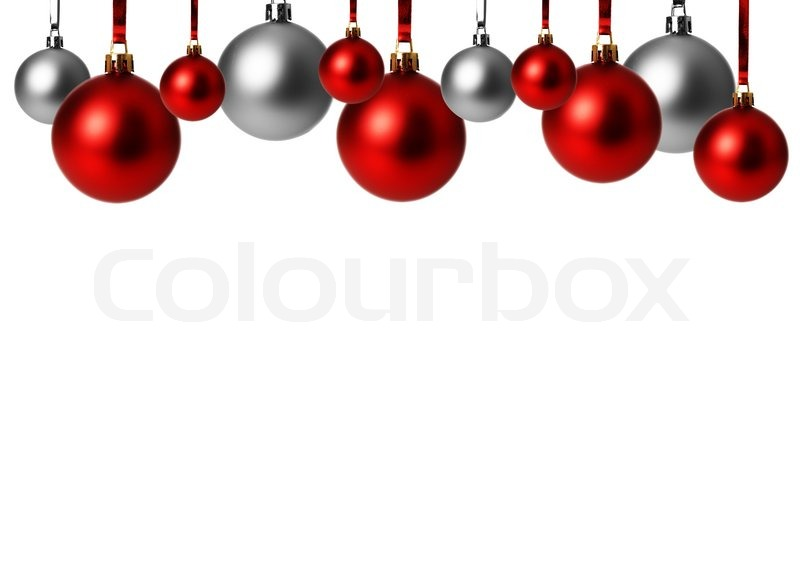 christmas christmas ornament red and gray stock photo colourbox