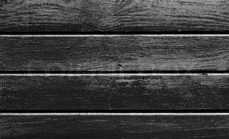 Black and white wood texture | Stock image | Colourbox