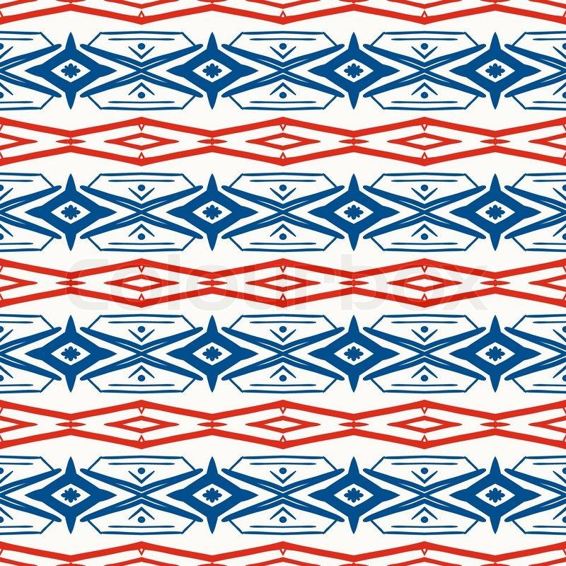 Ethnic Folk Pattern Texture For Web Print Wallpaper