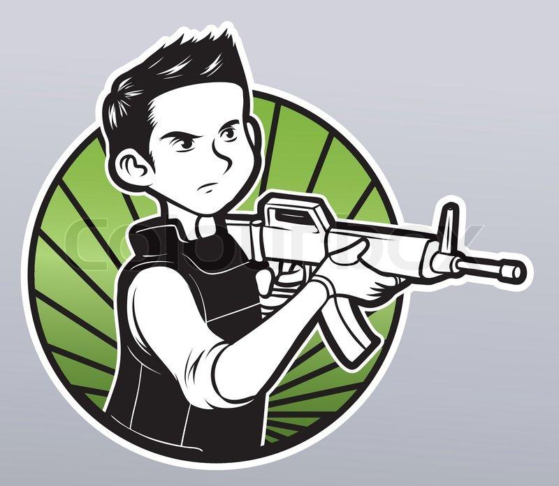 boys machine gun