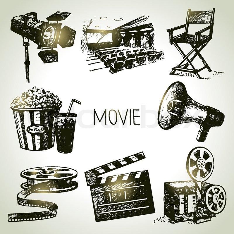 Vintage Film Filmgrafiken