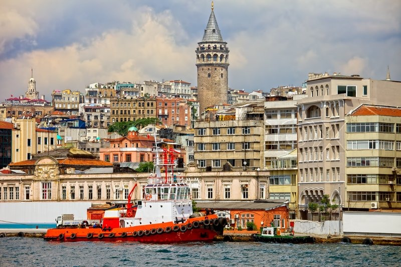 an analysis of the beyoglu settlement in galata of italian colonies