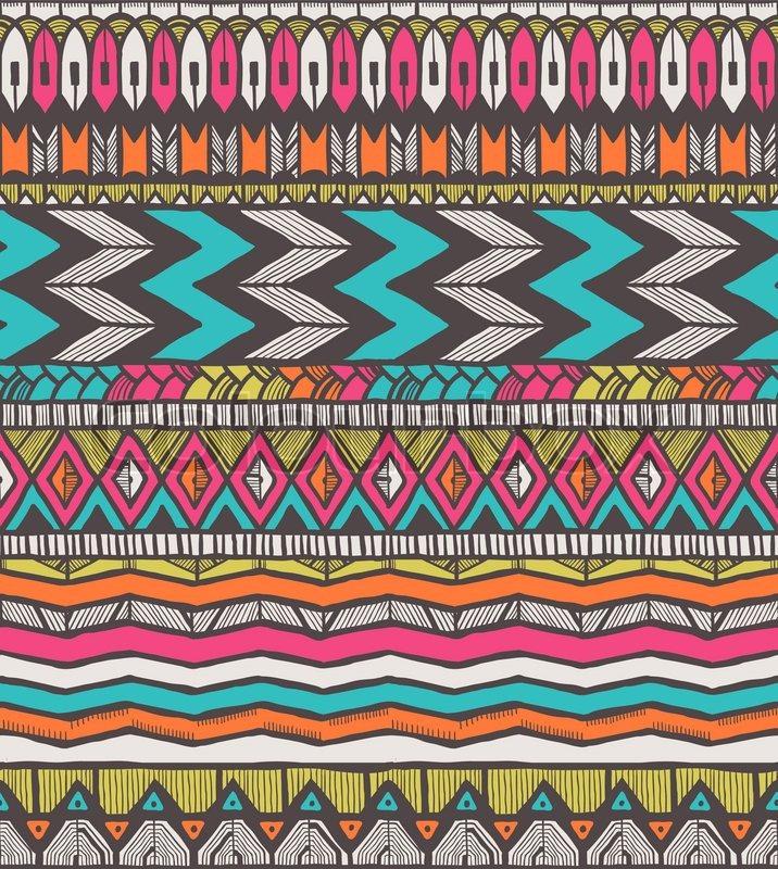 tribal vektor muster vektorgrafik colourbox. Black Bedroom Furniture Sets. Home Design Ideas