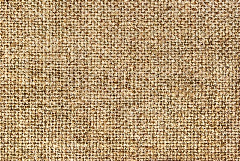Texture Of Coarse Cloth Burlap Stock Photo Colourbox