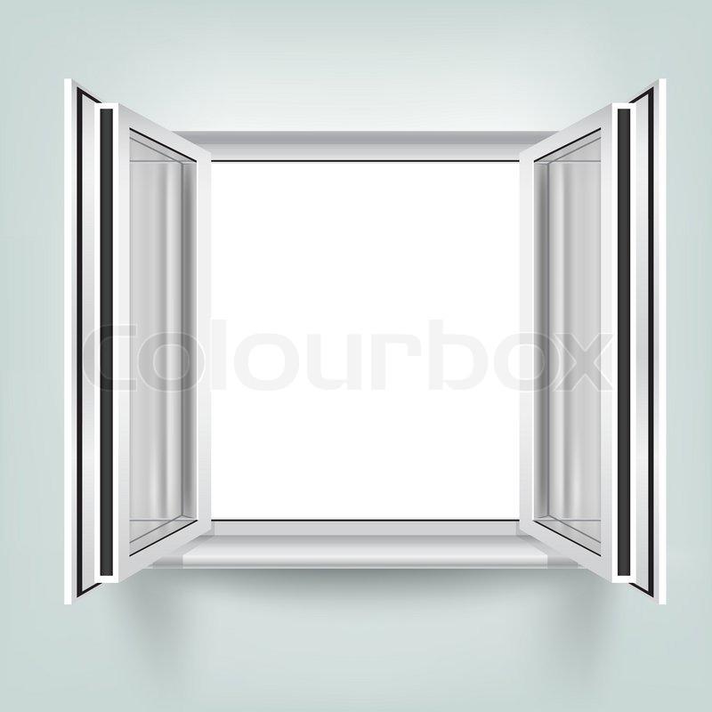 Öffnen Sie Fenster   Vektorgrafik   Colourbox
