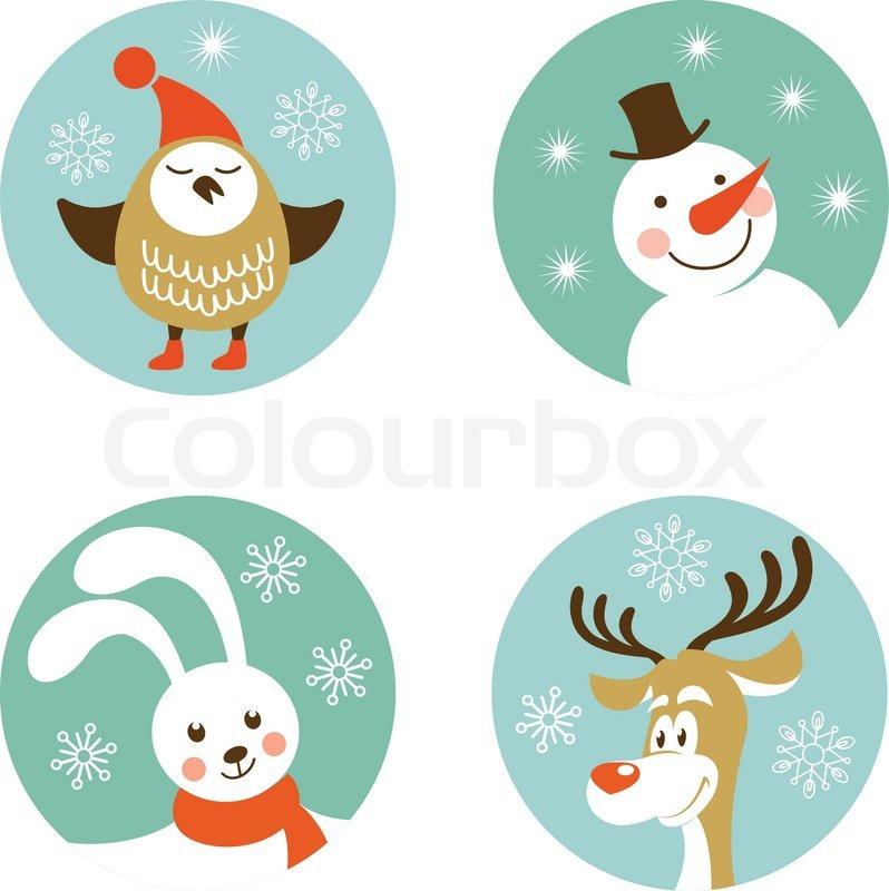 Weihnachten Zeichen   Vektorgrafik   Colourbox