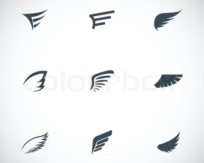 Ikonen spoilerset vektor schwarz vektorgrafik colourbox for Minimal art zusammenfassung