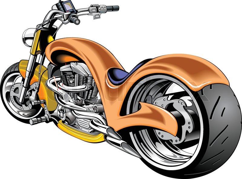 Harley Davidson Logo Orange Trait