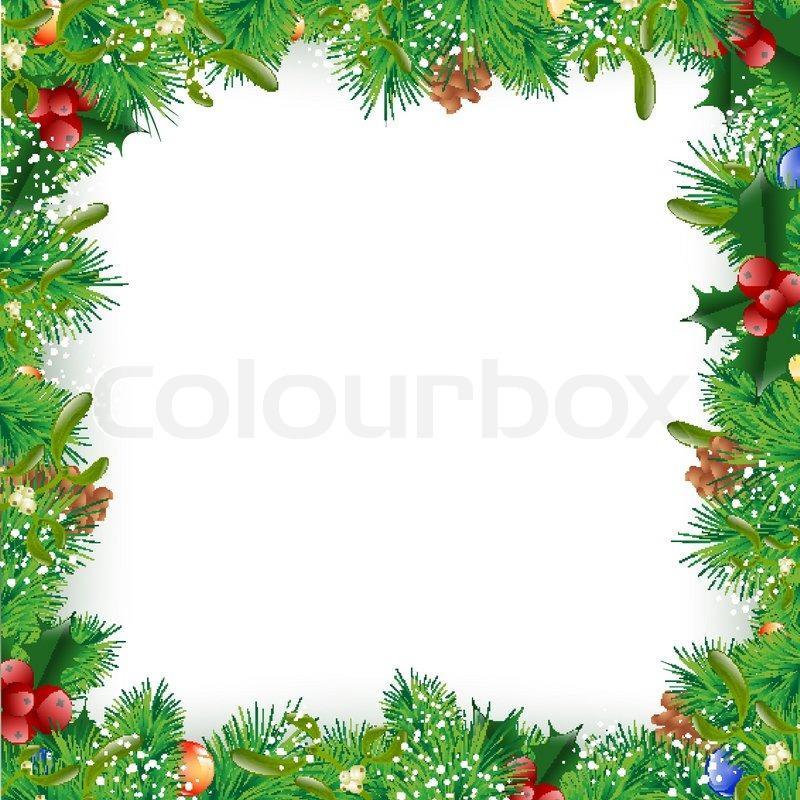 winter dekoration winterlich vektorgrafik colourbox. Black Bedroom Furniture Sets. Home Design Ideas