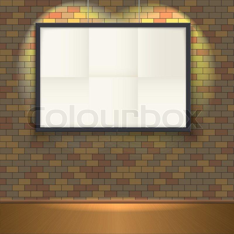 Plakat-Vorlage mit Rahmen. leicht zu bearbeiten, für Ihr Design ...