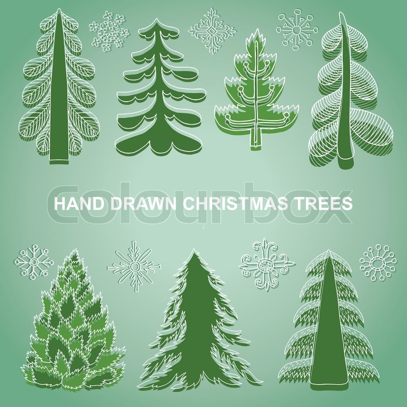 Christmas Tree Decoration Elements: Christmas And New Year's Decorations, ...