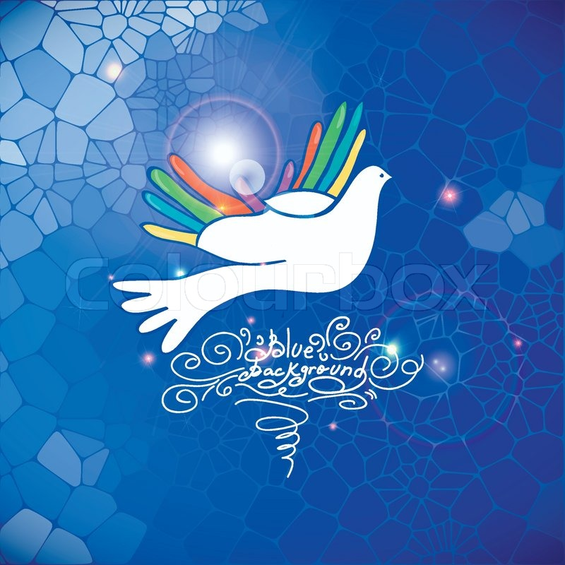 Hand And Bird Pigeon Dove Symbol Of Peace Help Medical Icon Love