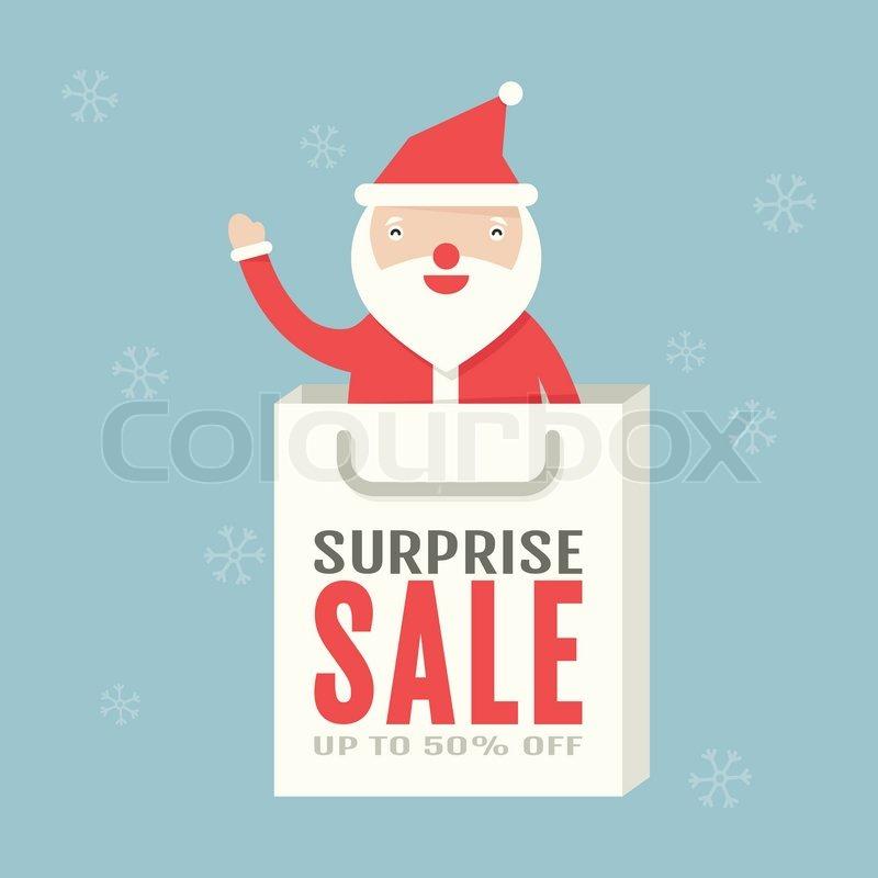 Weihnachtsverkauf   Vektorgrafik   Colourbox