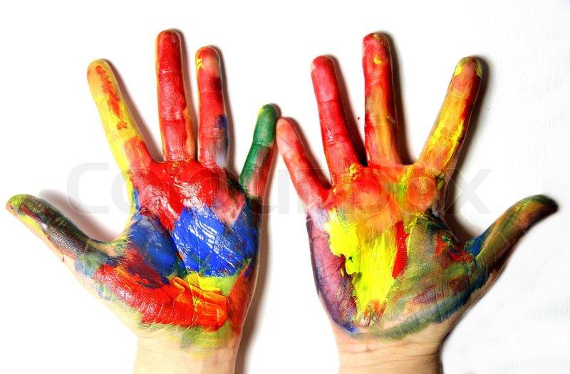 Rainbow Colour Paintings