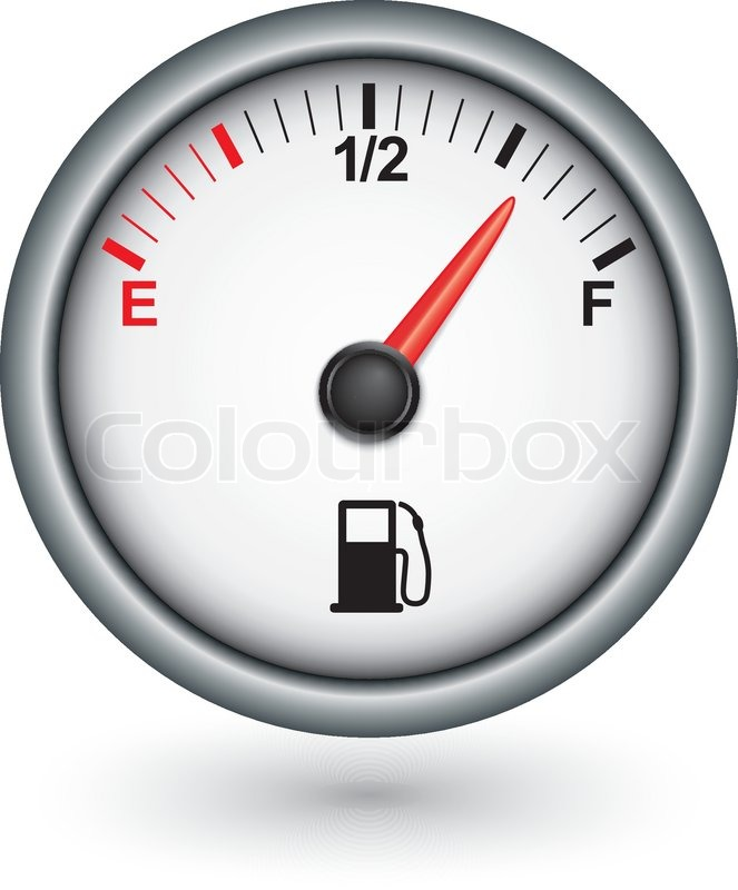 Car Transmission Vector Car Fuel Gauge Vector