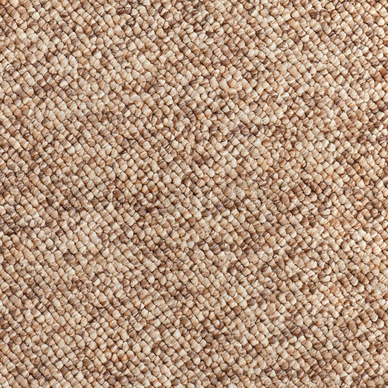 Beige Brown Carpet Texture Closeup Stock Photo