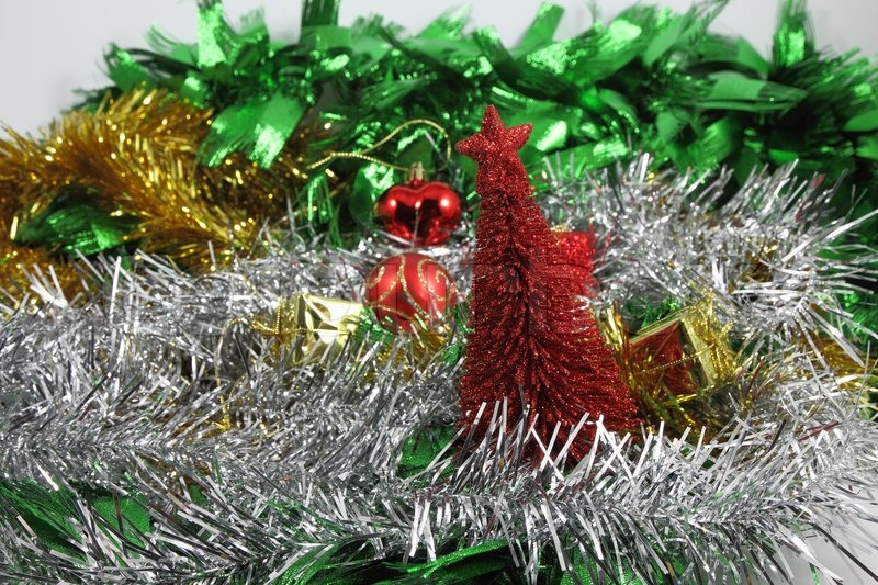 Christmas Red Pine Tree Ornaments ...