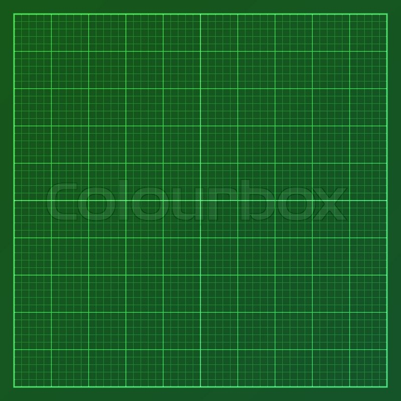 Vector Illustration Of Graph Paper Print Eps10 Stock
