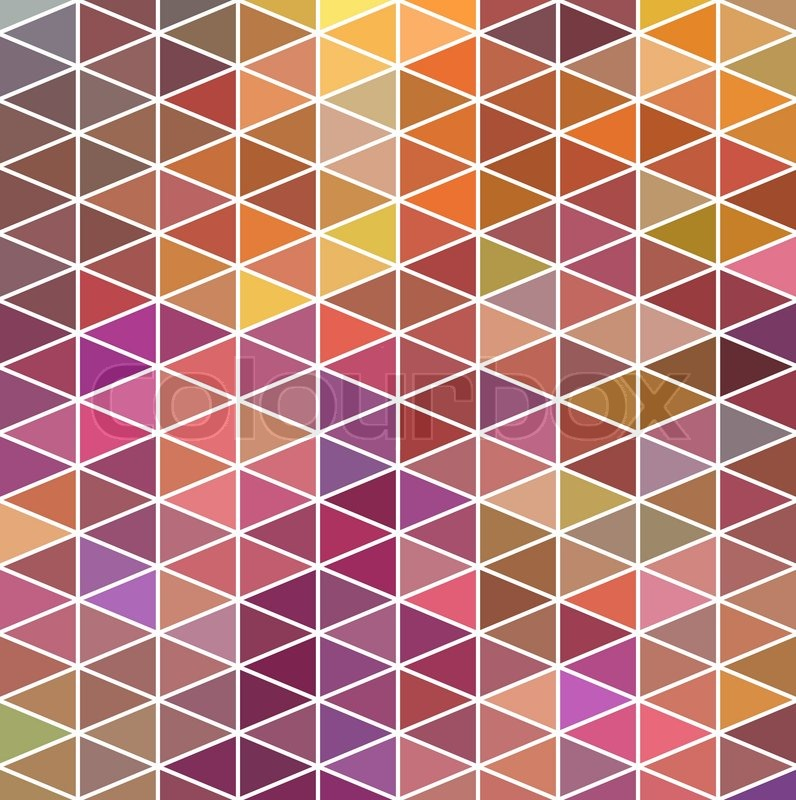 Retro pattern of geometric shapes. Colorful mosaic banner. Geometric  hipster retro background with place for your text. Retro triangle  background | Stock ...