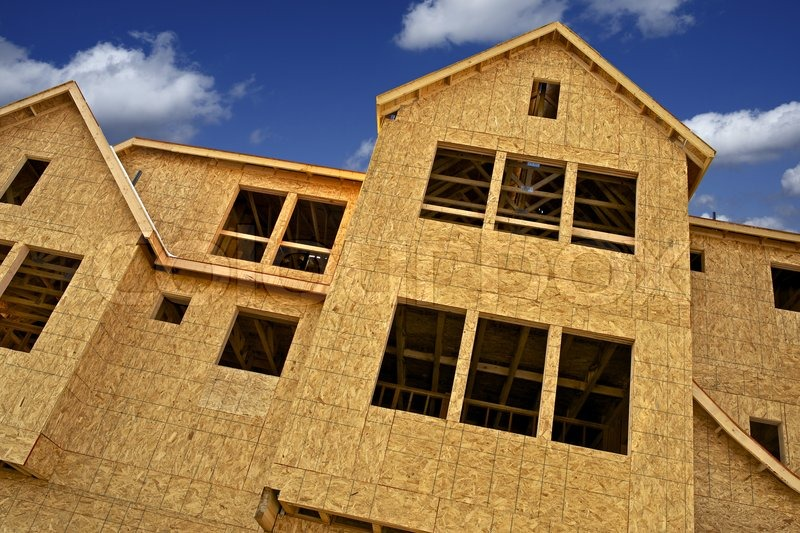 Construction Business. New Town Homes Under Construction. Construction Photo Collection, stock photo