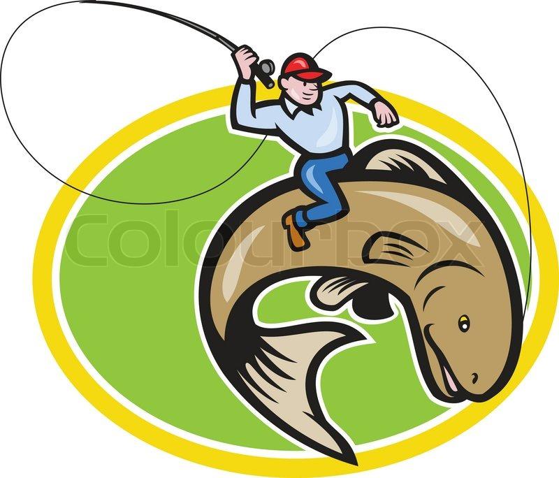 Images Cartoon Fisherman