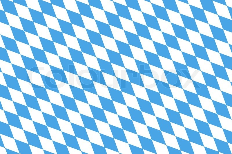 Blue White checked pattern for the bavarian flag or harlequin ...