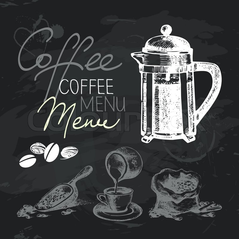 T.P. Design, Inc - Chalkboard Quotes for Coffee Lovers II  |Coffee Chalk Art