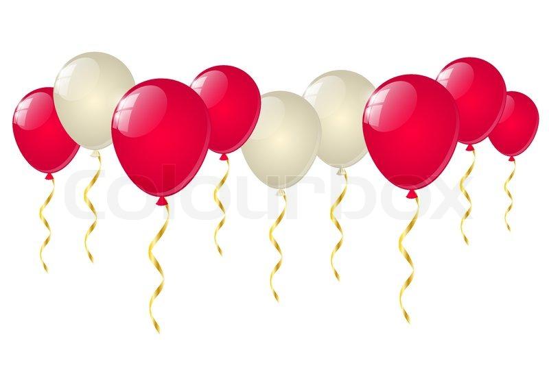 balloons white background - photo #22