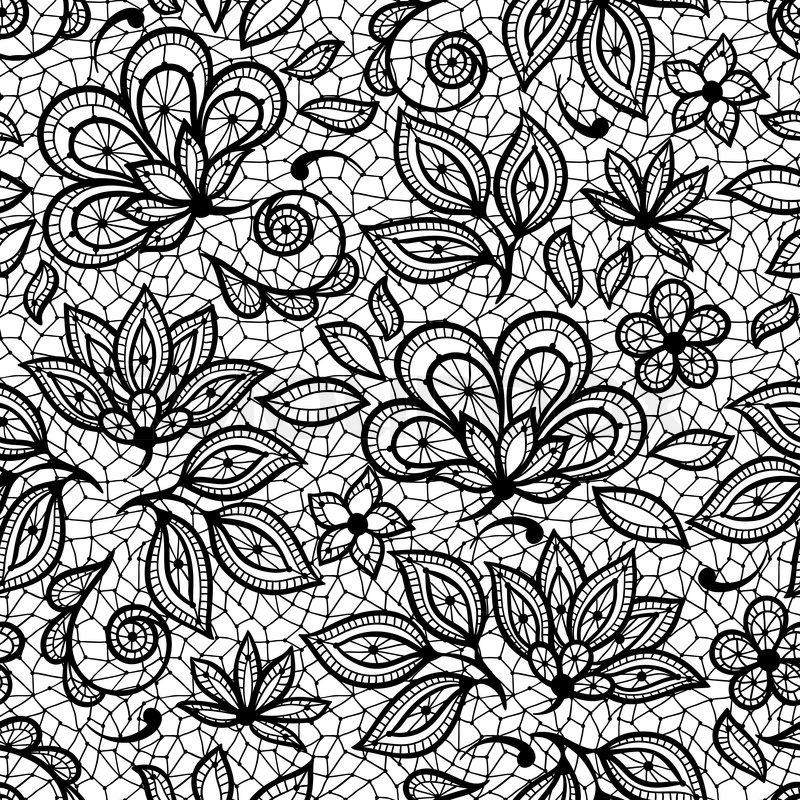 lace drawing pattern - photo #4