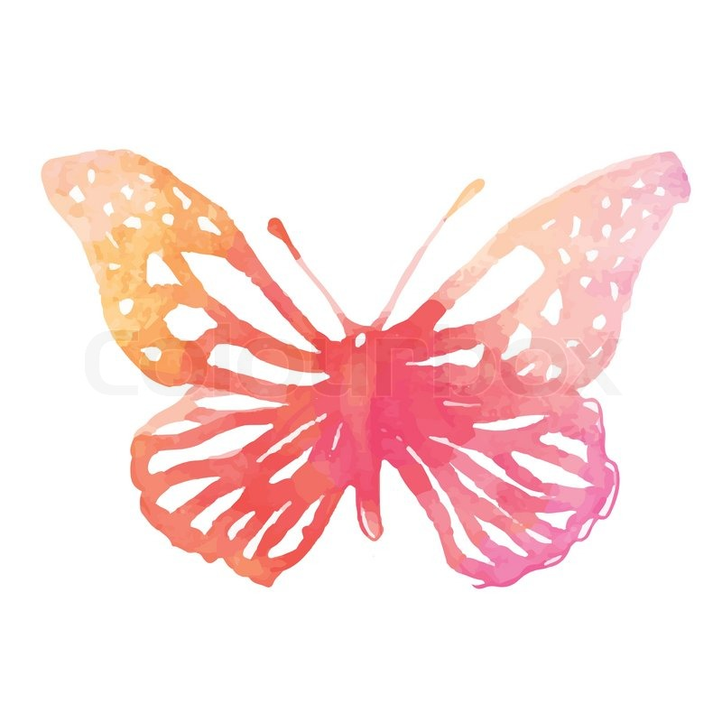 Artistic Butterfly Painting