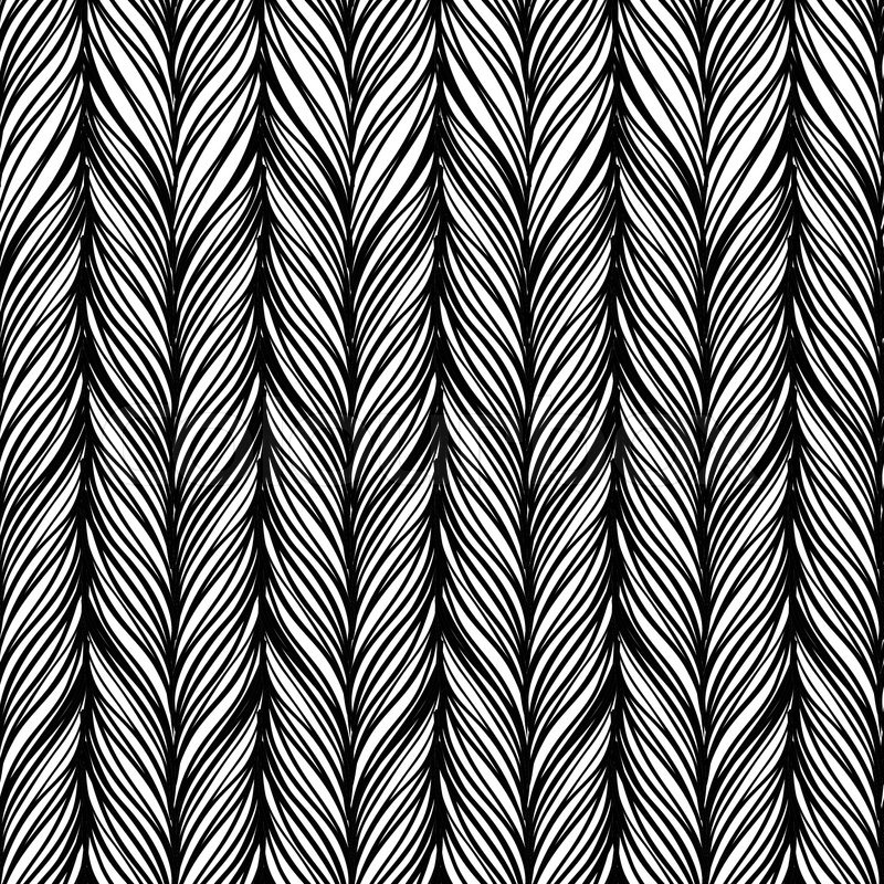 vector of 'Optical illusion: Black and white abstract seamless pattern ...