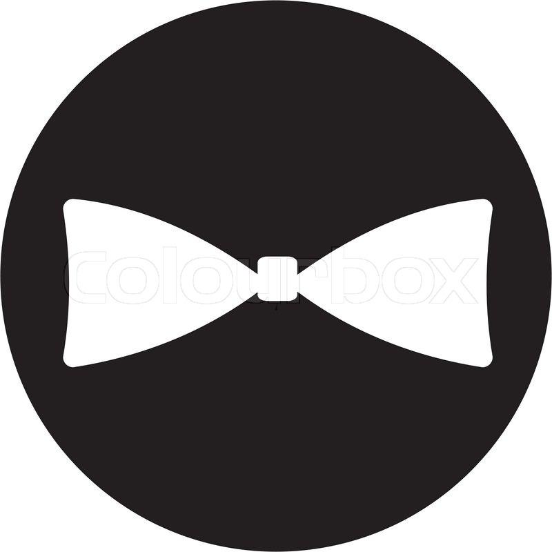 Bow Tie Icon Stock Vector Colourbox