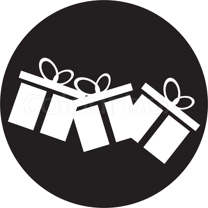 Gift box icon | Stock Vector | Colourbox
