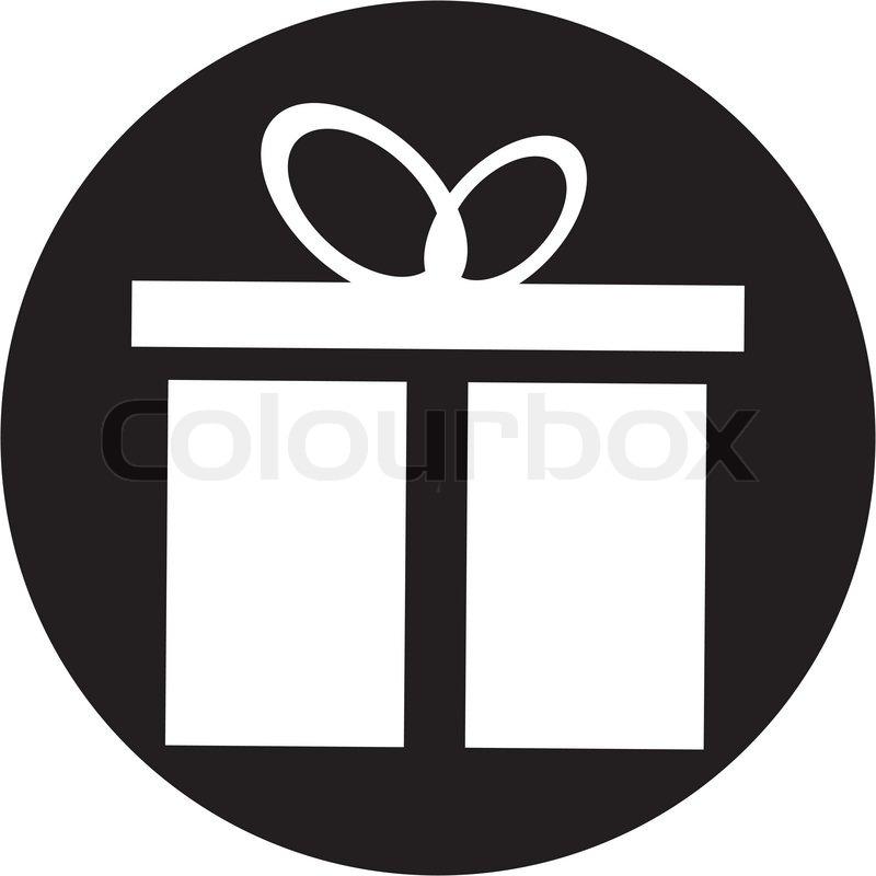 Gift box icon   Stock Vector   Colourbox